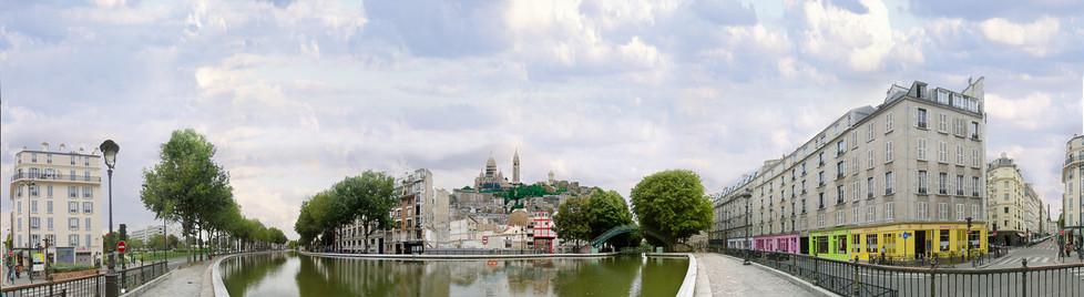 Nuit Blanche 2003 - Canal-St-Martin transformé