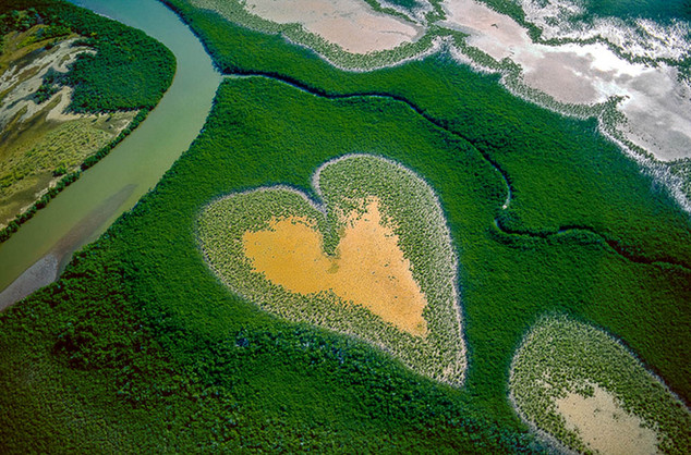 Le coeur de Voh ©Yann Arthus-Bertrand