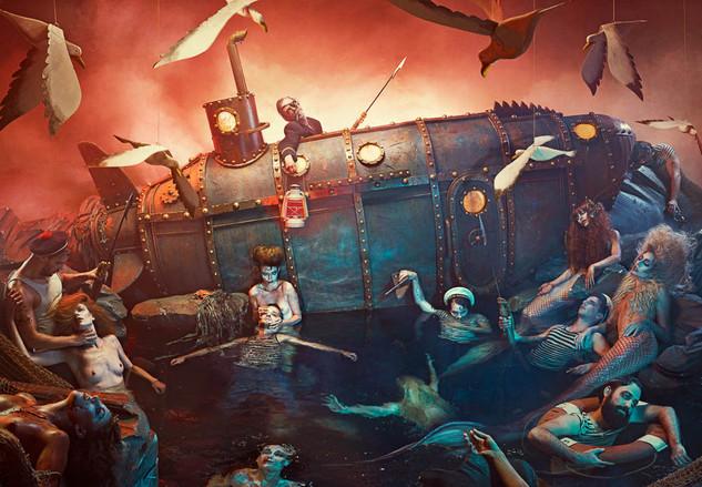 Le tombeau des sirènes ©Le Turk