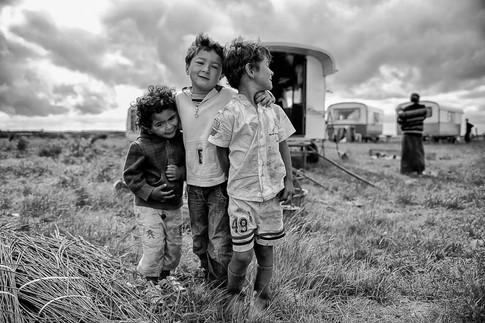 Les enfants du Voyage ©Walter Bantz