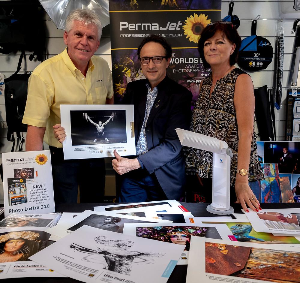 Robin Whetton, Didier Fontan & Sue Sedgwick
