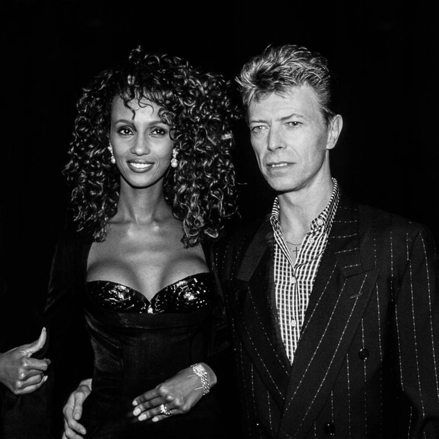 David Bowie et Iman ©William Stevens