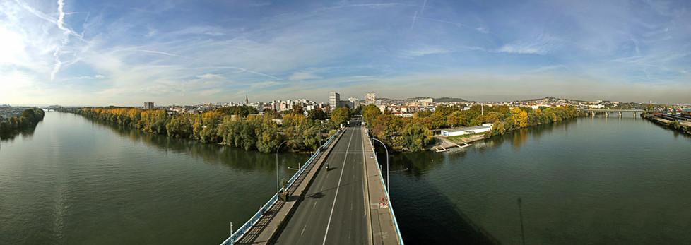 Mairie d'Argenteuil - Pont d'Argenteuil