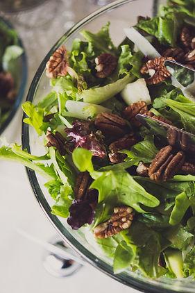 catering corporate nonprofit salad amand