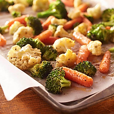 Sauteed Seasonal Vegetables // serves 10
