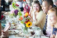 Vue Corvallis Event Venue Decor Rental Dining Centerpiece Vase Flowers Florals Catering