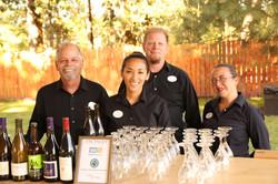 forks corks catering staff team bar bruce berg