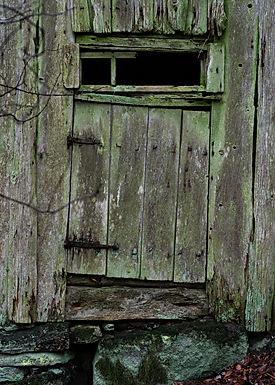 Dörren till den hårt arbetande torparen