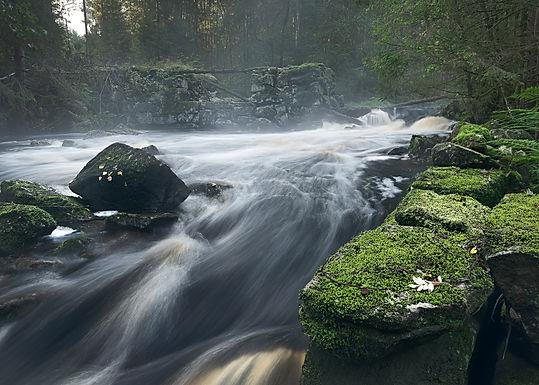 Dammen i Lundsboån