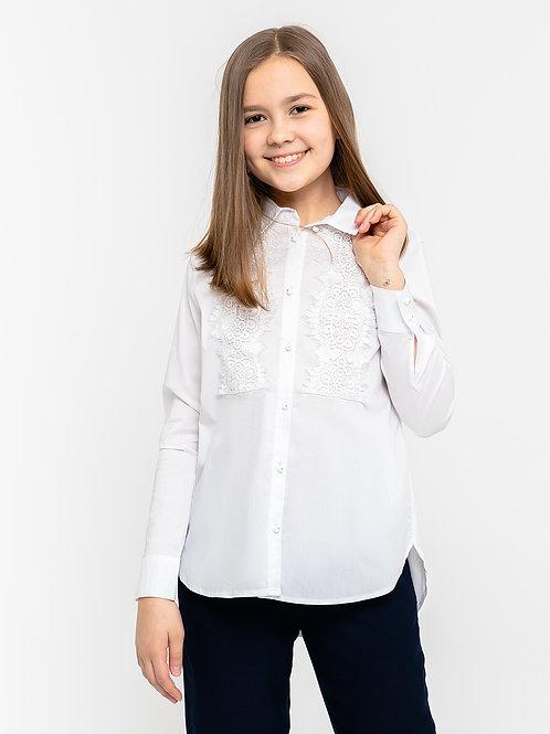 Блузка текстильная, 140 рост