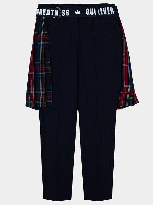 Комплект:брюки с юбкой