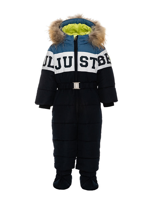 Комбинезон для мальчика зимний, рост 74 см