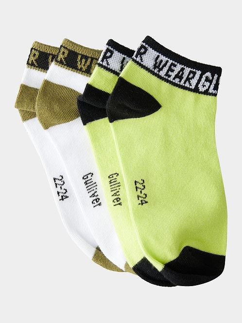 Комплект коротких носков 2 пары Gulliver