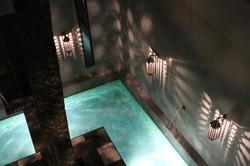 night pool shot
