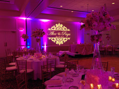 Monogram Wall Projection