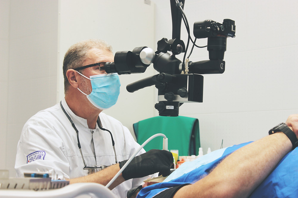 Лечение зубов под микроскопом в Самаре