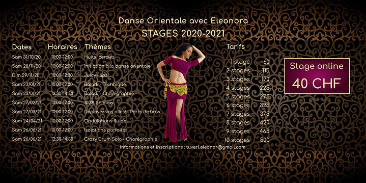 Stages 2020-2021