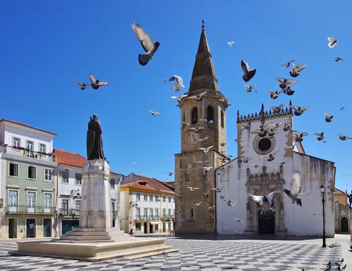 Praca Republica Tomar, Portugal