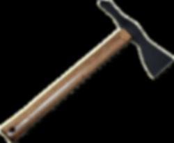 American Tomahawk hickory cutout modifie