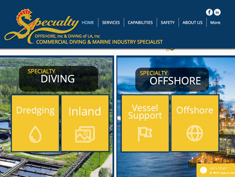 Specialty Commercial Divers