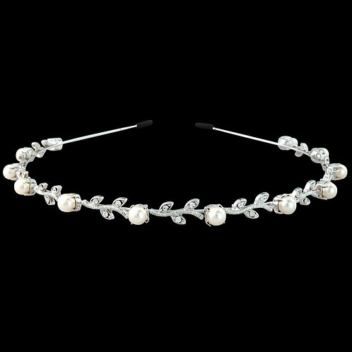 Swarovski Crystal & Pearl Headband