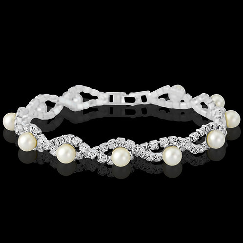 Pretty Chic Pear Bracelet