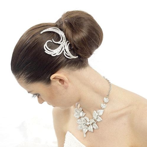 Luxurious Crystal Diva Hair Comb