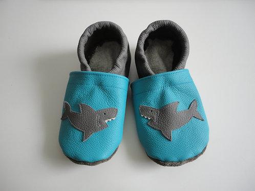 Kinderlederschuh Modell Hai