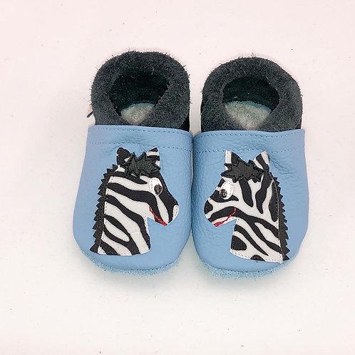 SK Kinderlederschuh Zebra