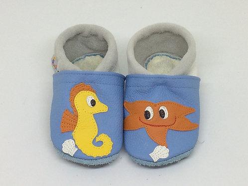 Kinderlederschuh Modell Meer