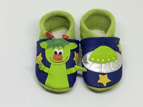 Kinderlederschuh Modell UFO