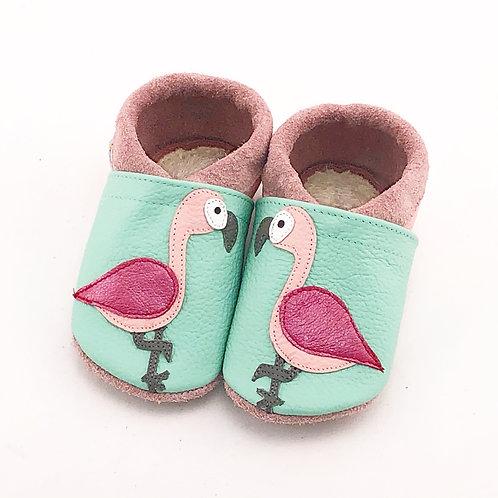 SK Kinderlederschuh Flamingo