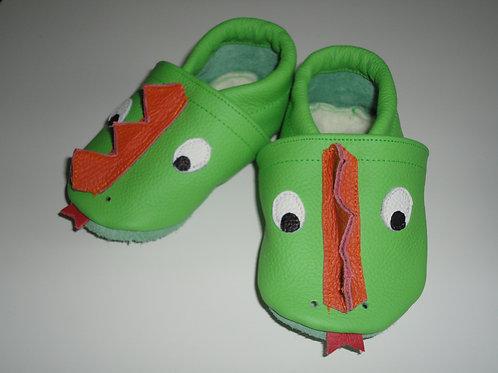 Kinderlederschuh Modell Drache