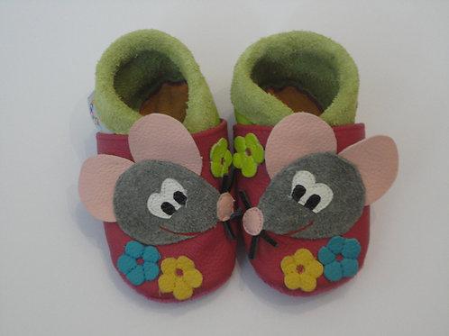 Kinderlederschuh Modell Maus
