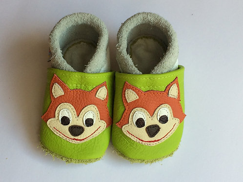 Kinderlederschuh Modell Fuchs