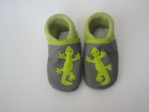 Kinderlederschuh Modell Gecko