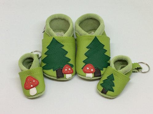 Kinderlederschuh Modell Wald