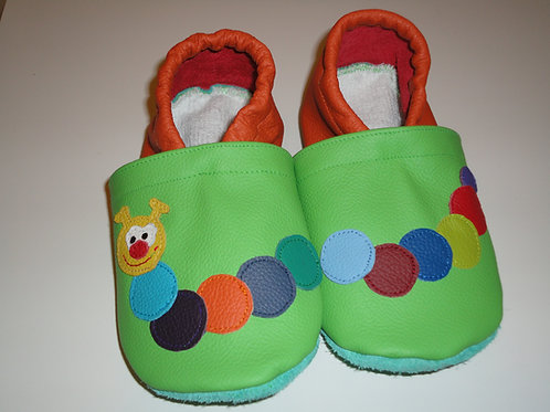 Kinderlederschuh Modell Raupe 2