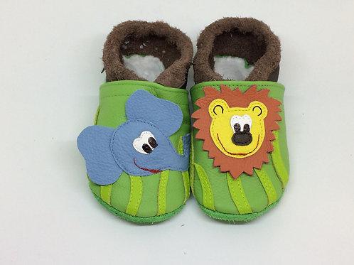 Kinderlederschuh Modell Dschungel