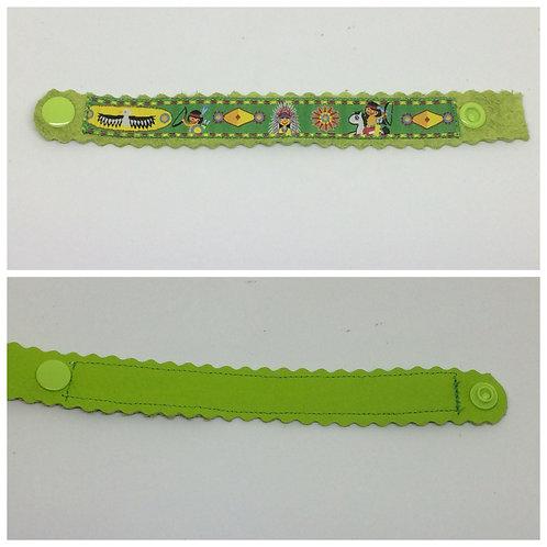 Armband mit Webband