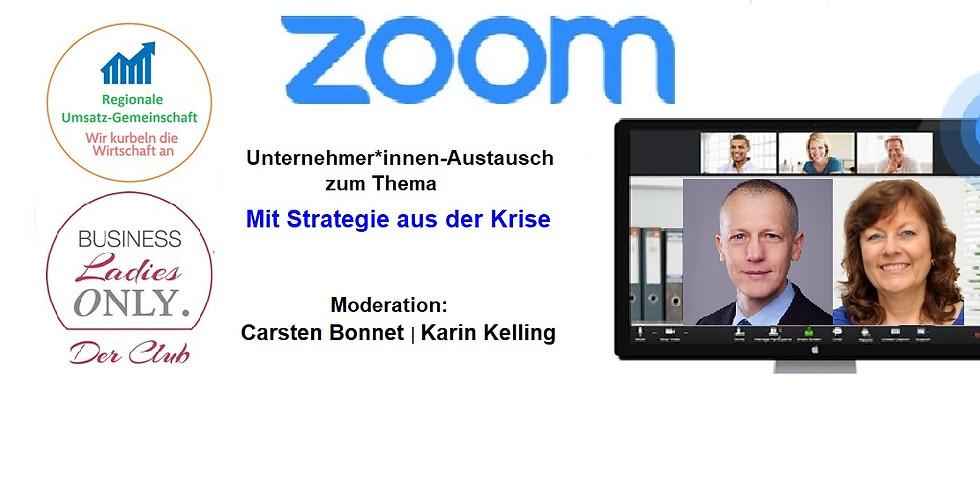 Mit Strategie(n) aus der Krise - per Zoom