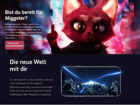 Miggster - Nummer 1 der mobilen Online-Gaming-Plattformen