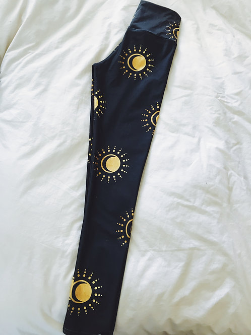 Sun and Moon Yoga Pants