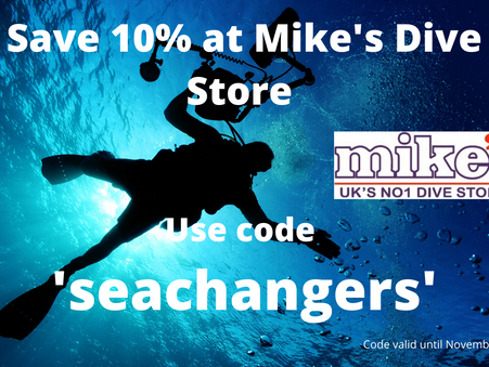 Claim your Mike's Dive discount today
