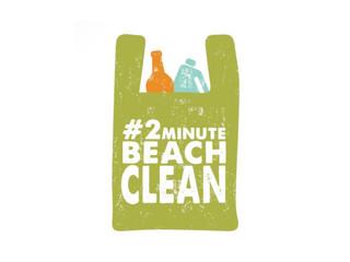 2-minute beach clean