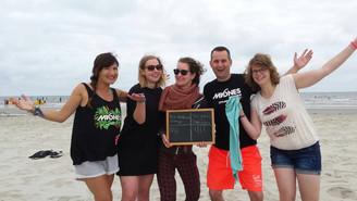 Spaanse Workshops en la playa!