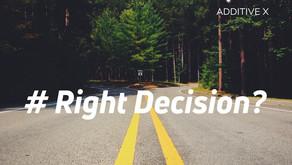วิธีการตัดสินใจที่มีประสิทธิภาพ - How to make effective decision?