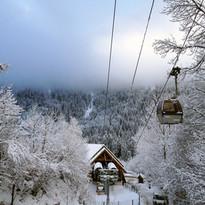 telecabine hiver