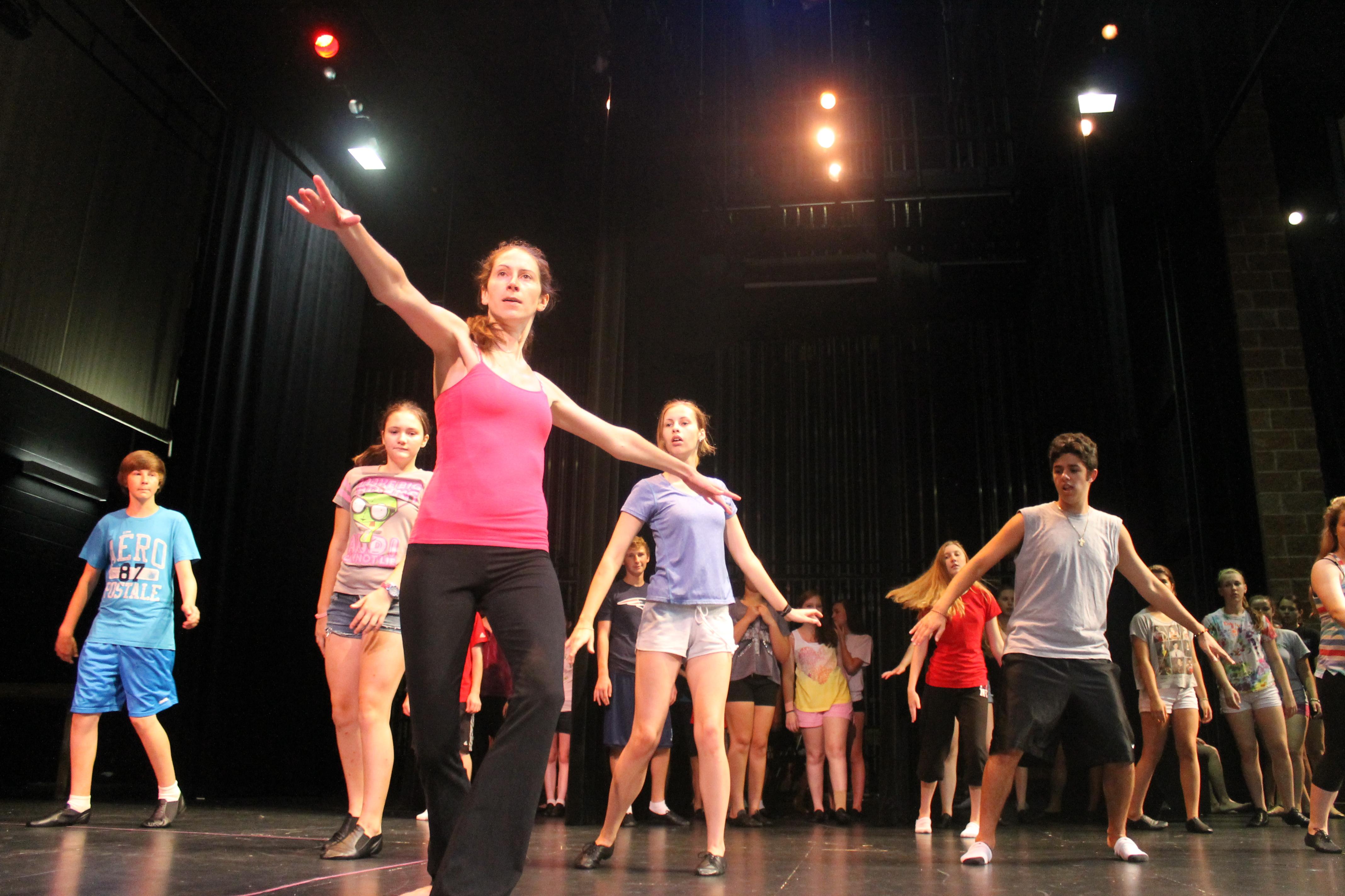 Choreo rehearsal