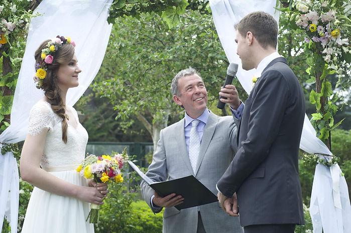 Wedding at Cleveland Winery